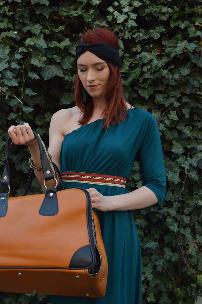Variabilní šaty na cestování nalehko