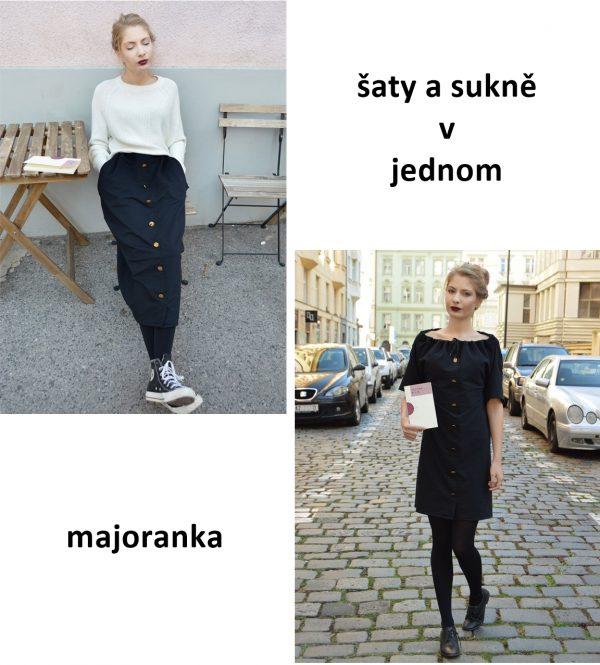 Šaty a sukně v 1. Od česko slovenské návrhářky.
