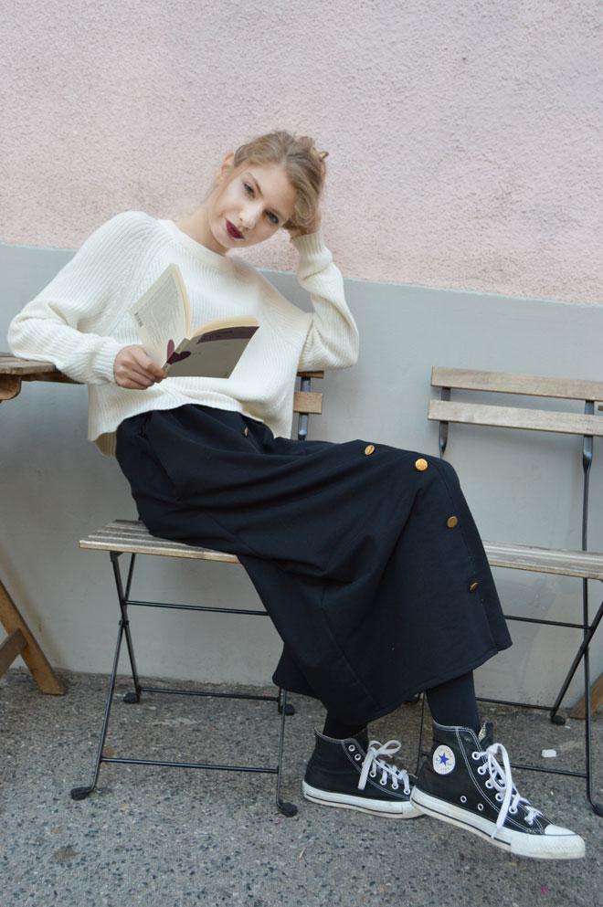 Multifunkčná sukňa, z ktorej sa dajú vytvoriť šaty