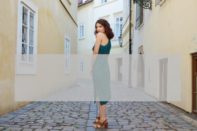 Zelené multifunkčné šaty od slovenskej značky