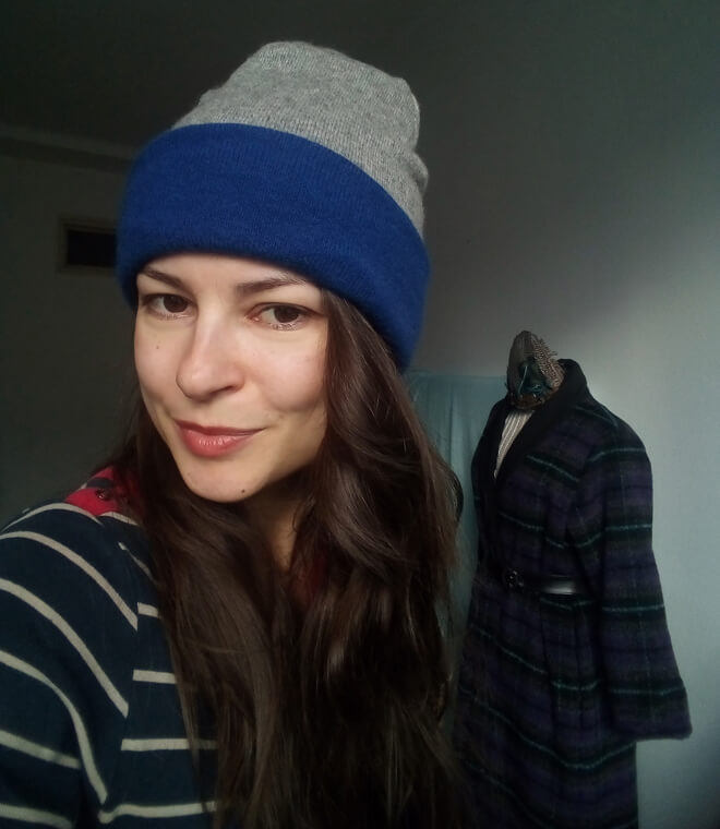 Návod na ušití zimní čepici.