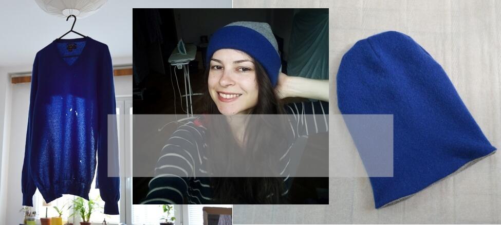 Návod na ušitie čiapky zo svetra