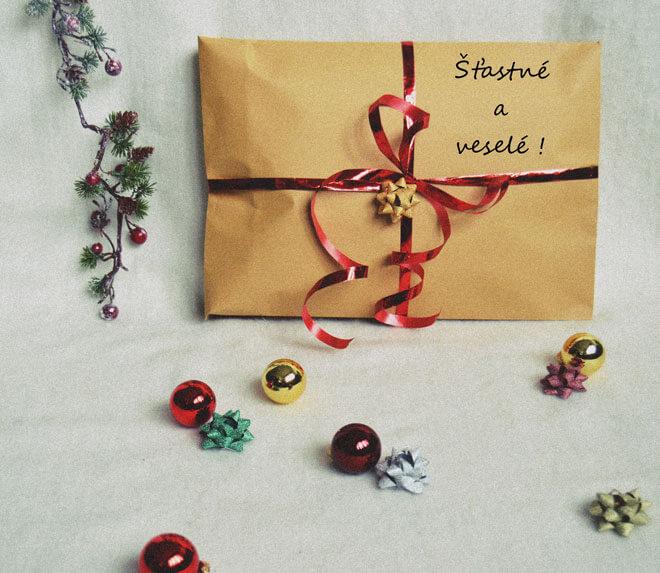 Slow fashion vianočný darček