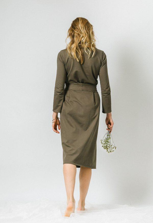 Zelené multifunkčné šaty od slovenskej / českej značky