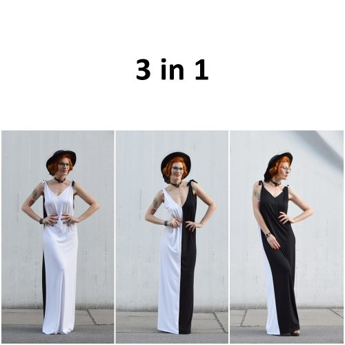 Yin Yang Slow Fashion Dress Prague