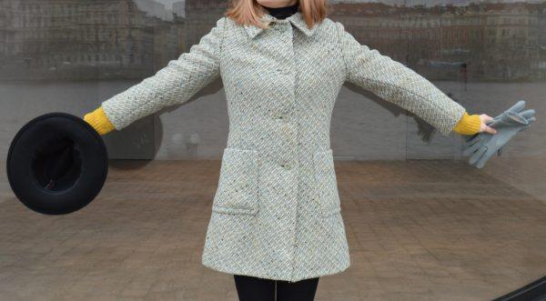 Wool slow fashion coat Prague
