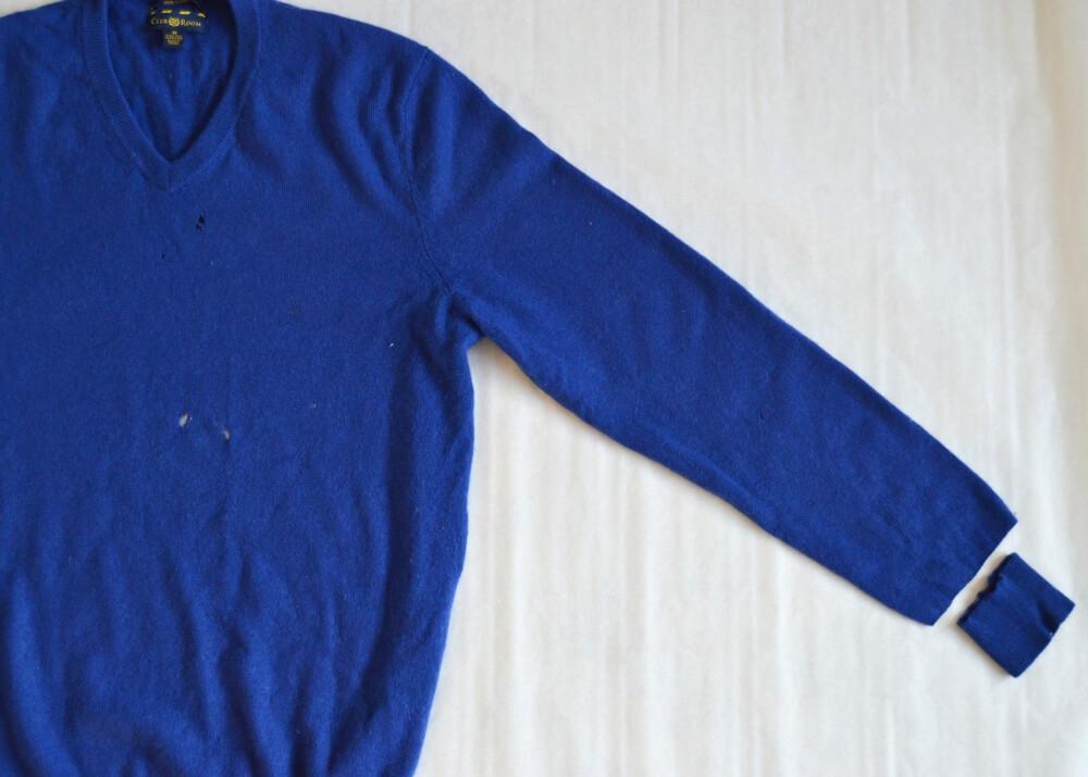 Ako recyklovať starý sveter.