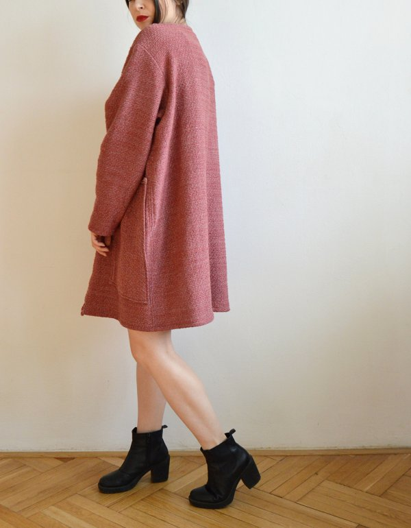 Červenkastý jarný kabátik