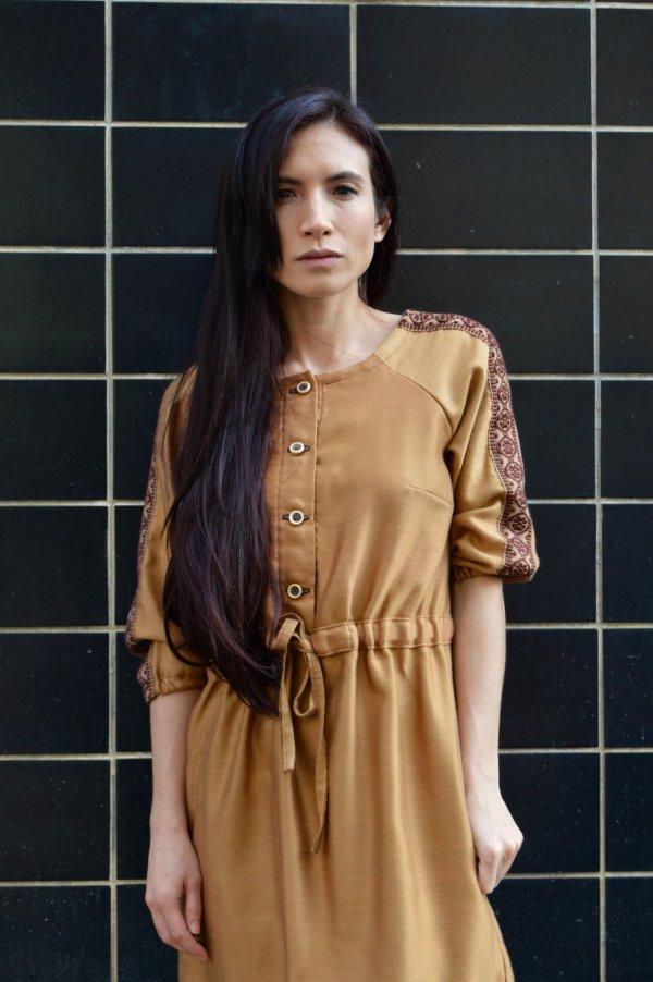 Upcyklované slow fashion šaty Praha